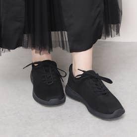 【レイン対応】【3E】晴雨兼用スニーカー (ブラック)