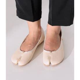 足袋バレエシューズ(アイボリー)