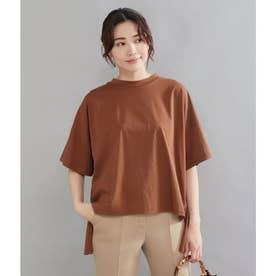 バックフリルTシャツ(モカ)