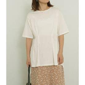 ウエストタックTシャツ(ホワイト)