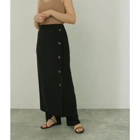 スカート+パンツセット(ブラック)
