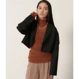 【低身長向けサイズ】ショートジャケット(ブラック)