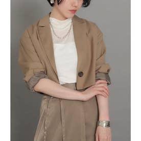 【低身長向けサイズ】ショートジャケット(ベージュ)