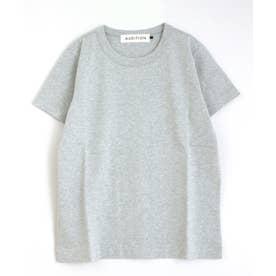 ハイツイストベーシックTシャツ (杢グレー)