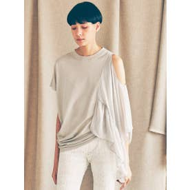 RE-MAKED SLEEVE TOPS (LT.GRAY)