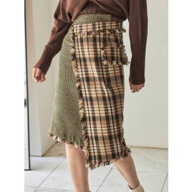 COMBINATION SKIRT (BEIGE)