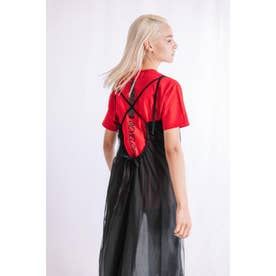 FRUIT OF THE LOOM BACK LINE TEE (RED)