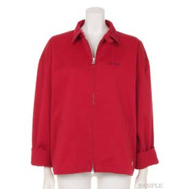 TWILL SWING TOP JACKET (RED)