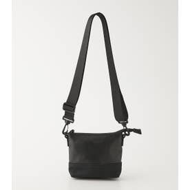PUNCHING ECO LEATHER MINI BAG BLK