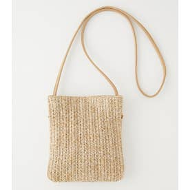 MESH TWO IN ONE SHOULDERBAG BEG