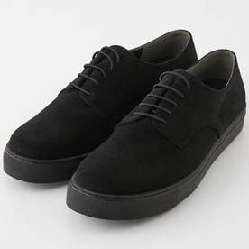 ECO SUEDE LACE-UP SHOES BLK