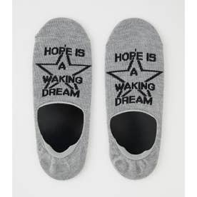 HOPE IS STAR STEP IN SOCKS GRY