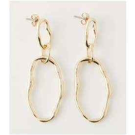 NUANCE ROUND EARRINGS L/GLD1