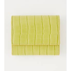 EMBOSSING WALLET LIME