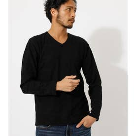 SHADOW CAMO LONG TEE/シャドウカモロングTシャツ BLK