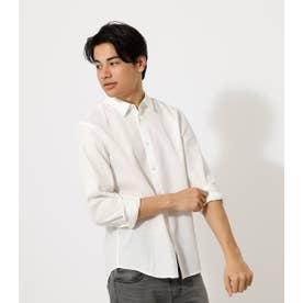 WAFFLE PLAIN SHIRT/ワッフルプレインシャツ【MOOK52掲載 90507】 WHT