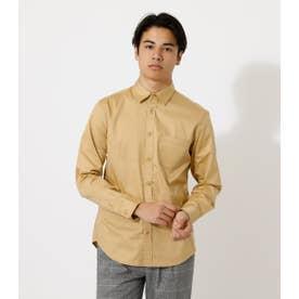ALTRE FIBRE PLAIN SHIRT/オルターファイバプレインシャツ【MOOK52掲載 90505】 L/BEG