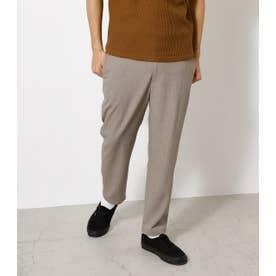 TROPICAL SLIM ANKLE PANTS/トロピカルスリムアンクルパンツ L/BEG