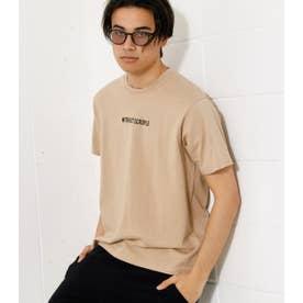 WITHOUT SCRUPLE TEE/ウィズアウトスクループルTシャツ BEG