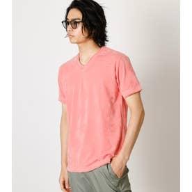SHADOW CHIMAYO PIGMENT TEE/シャドウチマヨピグメントTシャツ L/PNK