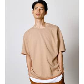 MINI FLEECE TEE/ミニフリースTシャツ L/BEG