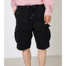 MILITARY CARGO SHORTS BLK