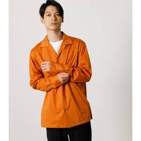 OPEN COLLAR SILKETE SHIRT/オープンカラーシルケットシャツ