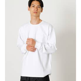 OVER LOCK PUNCH C/N TEE/オーバーロックパンチクルーネックTシャツ