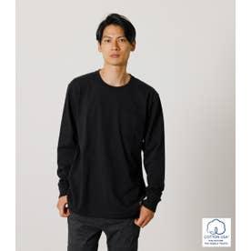 USA COTTON C/N LONG TEE/USAコットンクルーネックロングTシャツ