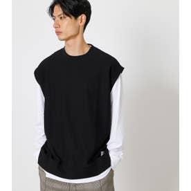 PLAIN COLOR VEST SET TEE/プレインカラーベストセットTシャツ