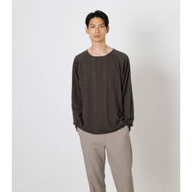 CUT OFF KNITTING PATTERN TEE/カットオフニッティングパターンTシャツ