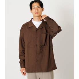W POCKET OPEN COLLAR SHIRT/Wポケットオープンカラーシャツ