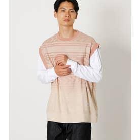 CHIMAYO GRADATION VEST SET TEE/チマヨグラデーションベストセットTシャツ