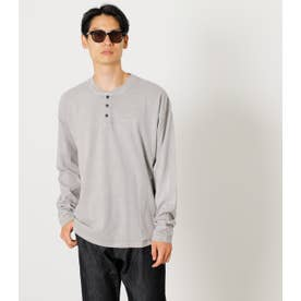 PIGMENT HENLEY LONG TEE L/GRY1