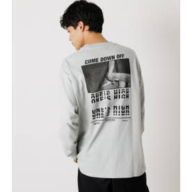 ONE'S HIGH LONG TEE L/GRY1