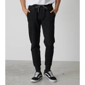 NEW DOBBY SLIM JOGGER BLK