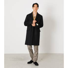 MELTON STANDARD CHESTER COAT BLK
