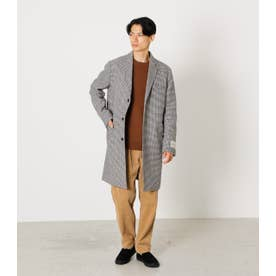 MELTON STANDARD CHESTER COAT 柄BEG5