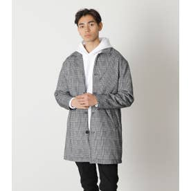 GLEN CHECK SHOP COAT 柄GRY5