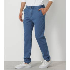 STRETCH DENIM PANTS BLU