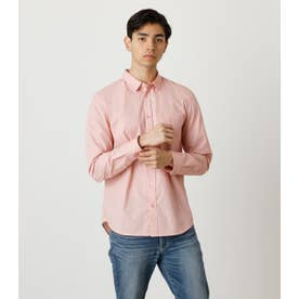 COTTON DUMP BASIC SHIRTS L/PNK1