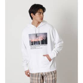 THE TALENT PHOTO HOODIE WHT