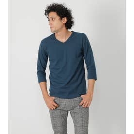 TACK FRAISE 3/4 SLEEVE TEE L/NVY1