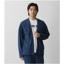 MOSS STITCH COMFORTABLE TOPPER L/NVY1