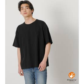 USA COTTON BIG TEE BLK