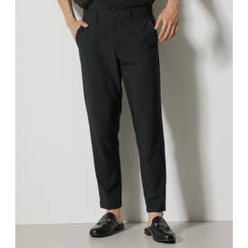 STRETCH TAPERED PANTS BLK
