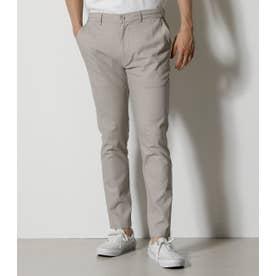 LINEN MIX STRETCH PANTS L/BEG1