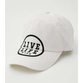 LIVE LIFE CAP WHT