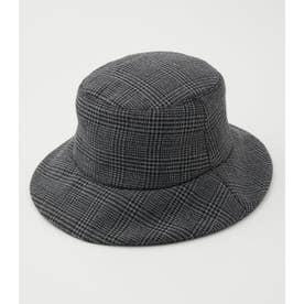PADDING BUCKET HAT 柄GRY5