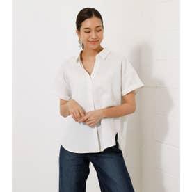AFRICAN STRIPE LOOSE SHIRT/アフリカンストライプルーズシャツ O/WHT